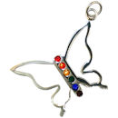 Model GPP4353 Gay Pride Pendant